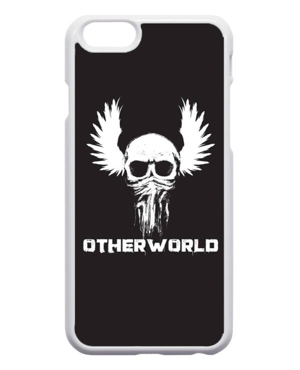 Otherworld skull -iPhone 4/4s flip tok
