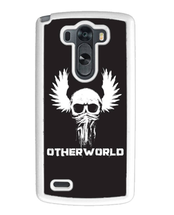 Otherworld skull -LG K10 műanyag tok