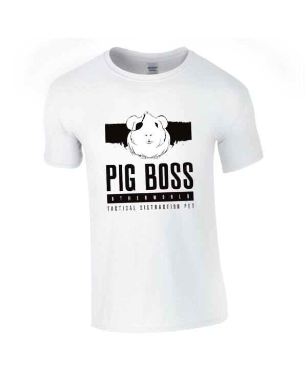 OtherWorld Pig Boss férfi póló